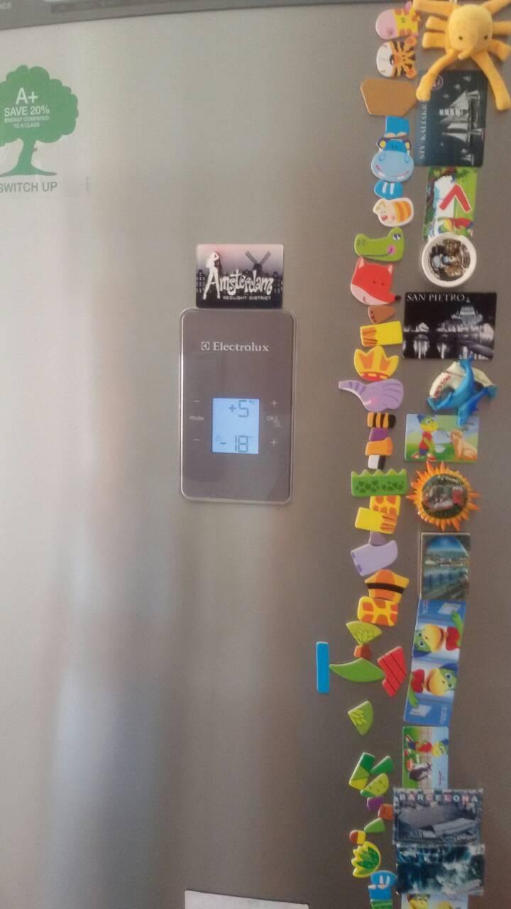 Монтаж на изпарител на хладилник Electrolux  с превкючващ магнет вентил_3