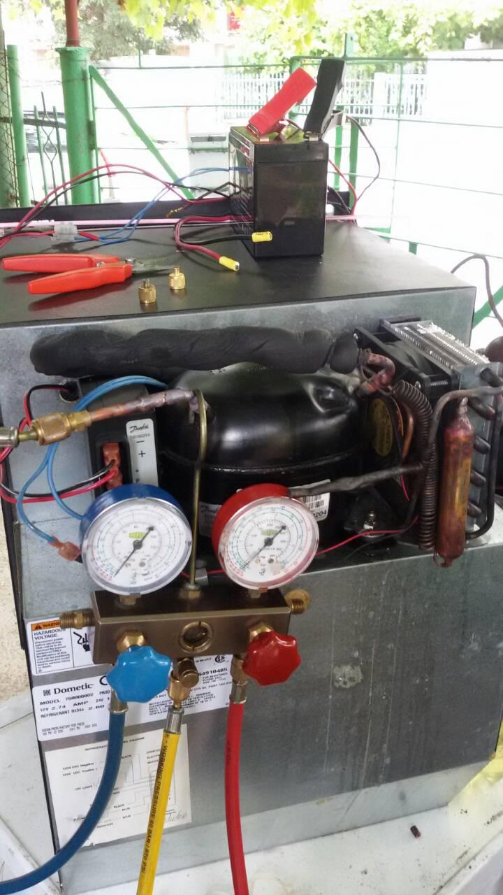Ремонт на автомобилен хладилник на 12V_1