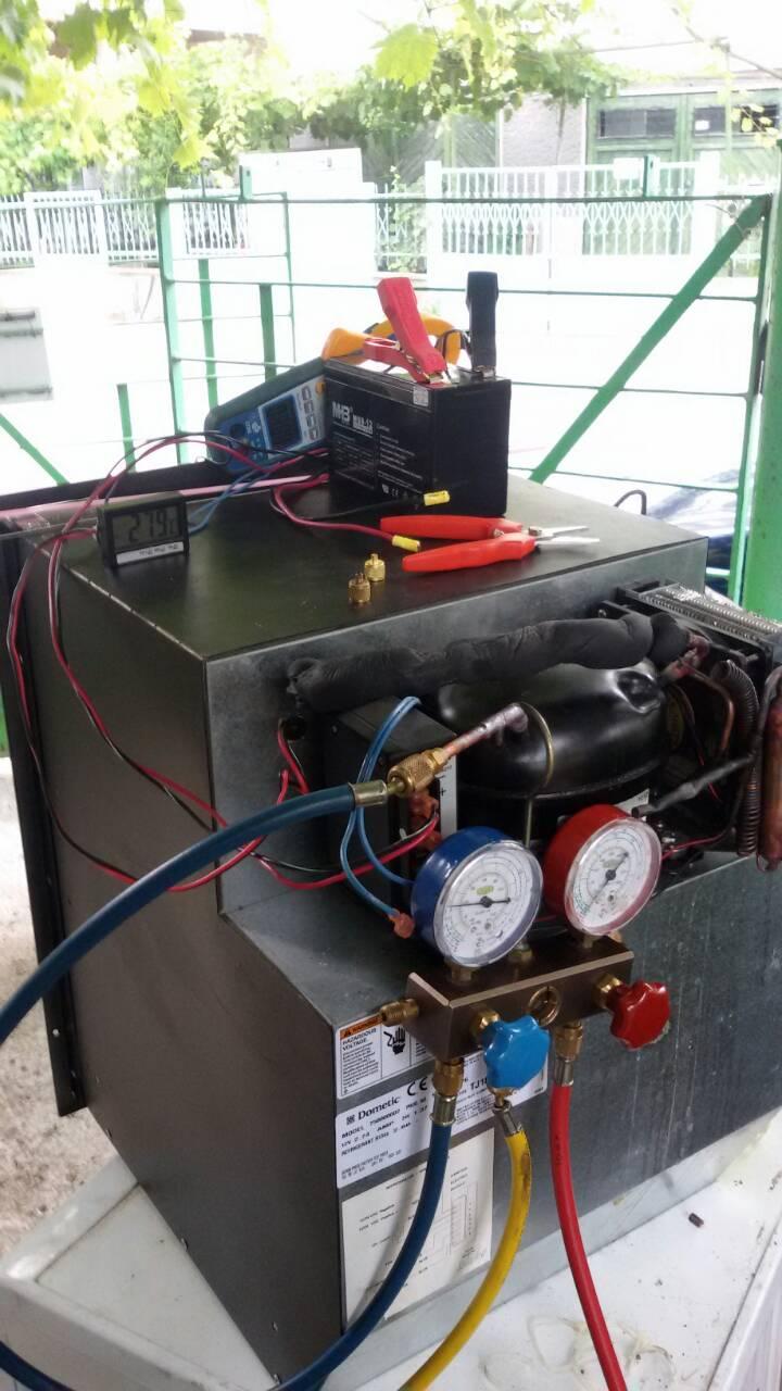 Ремонт на автомобилен хладилник на 12V_2