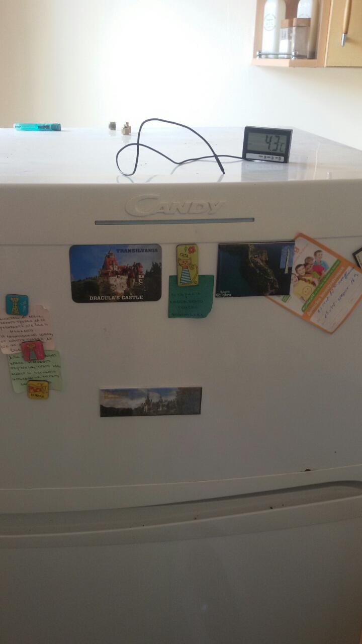Ремонт на хладилник Candy.Отстраняване на пропуск и зареждане с фреон R134a_3