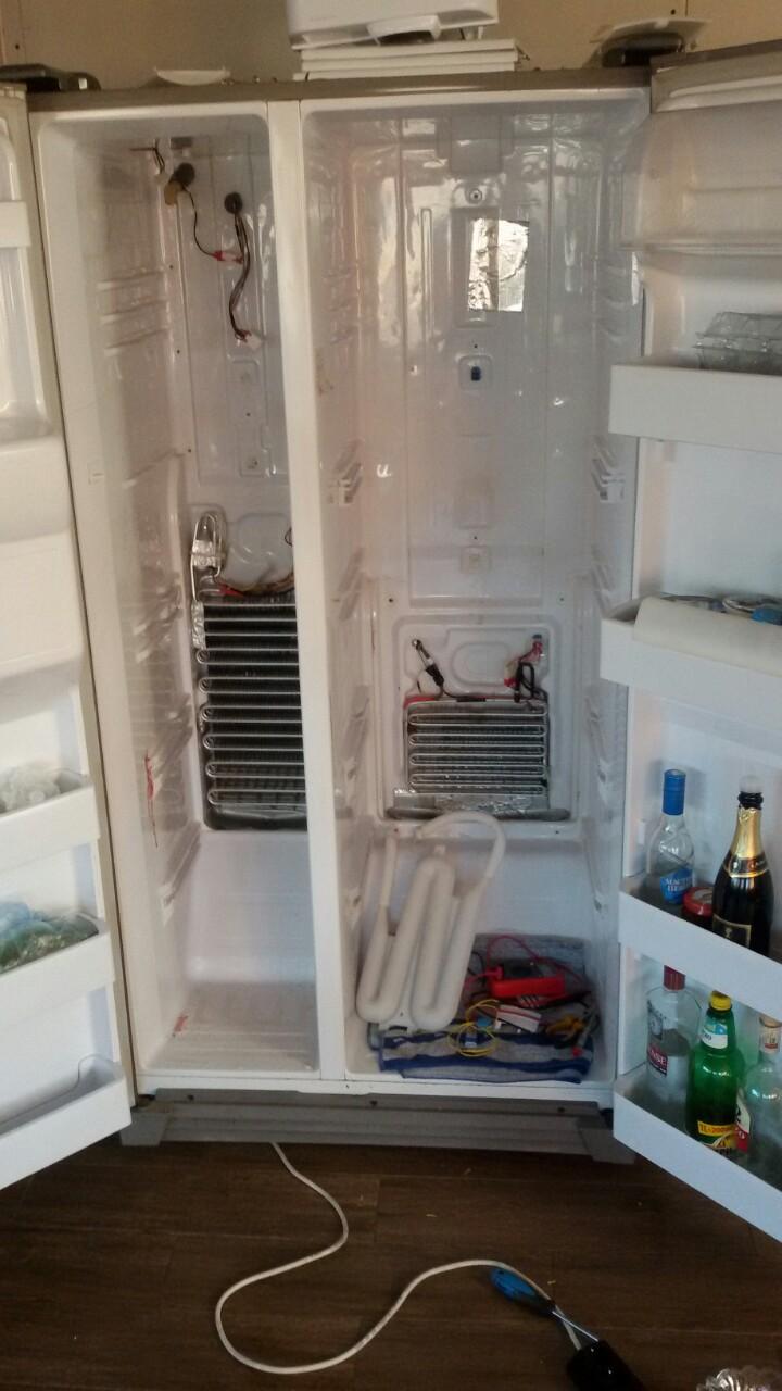 Смяна температурни датчици на хладилник Samsung Side by Side_3