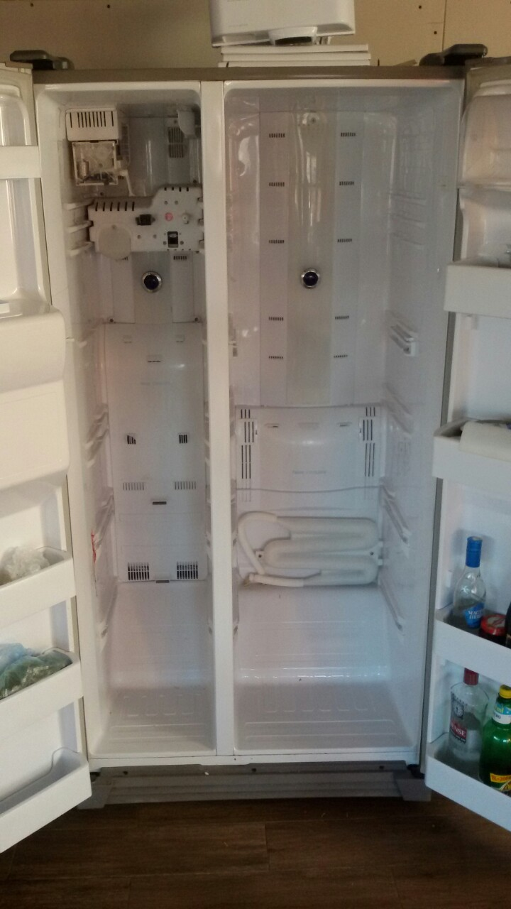 Смяна температурни датчици на хладилник Samsung Side by Side_4