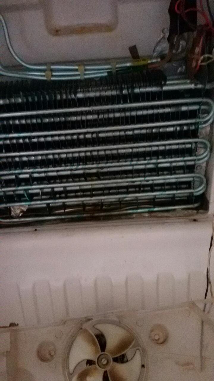 """Смяна нагревател на хладилник LG с """"No Frost"""" система"""