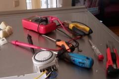 Хладилник SHARP смяна на часовник_2