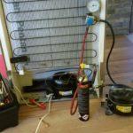 Смяна компресор на хладилник Bosch – Компресор Embraco E MY 26CLC
