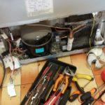 Диагностика и ремонт на хладилник Daewoo с NO FROST_1