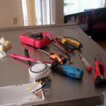 Хладилник SHARP смяна на часовник