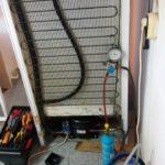 Смяна компресор ZMC GL99AA R134a на Хладилна витрина Liebherr