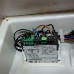 Смяна контролер и датчици на хладилна витрина